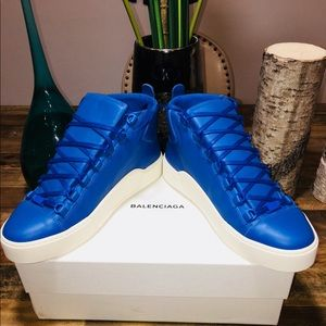 NWT Balenciaga Men Arena Sneakers 100% Authentic